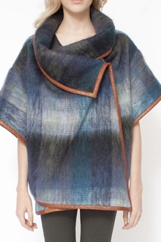 Suno Cropped Mohair Cape