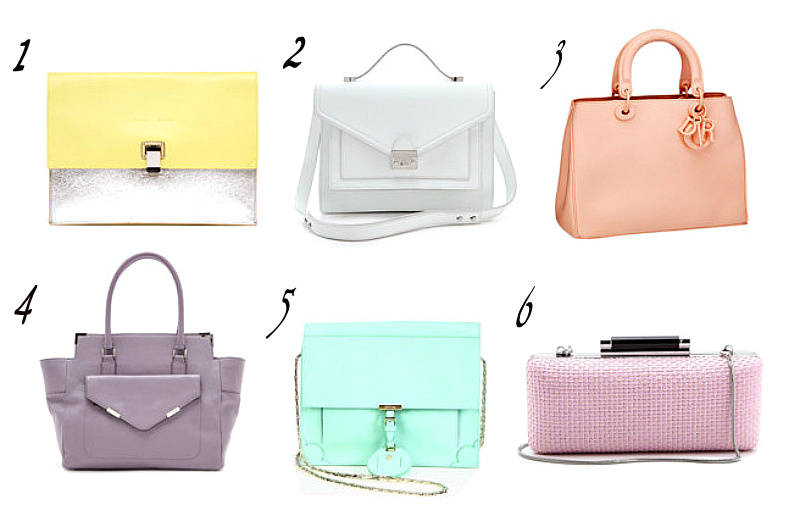 pastel bags