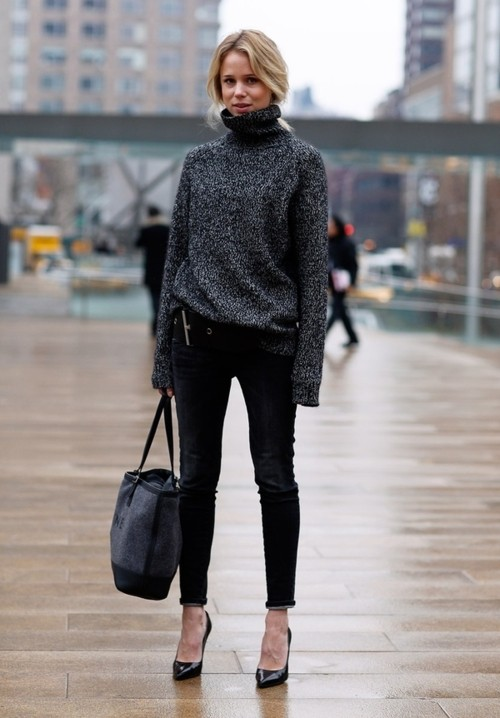 Elin Kling turtleneck