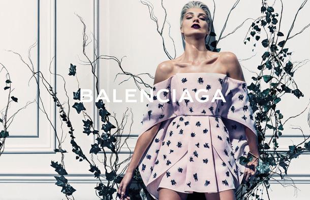 Balenciaga Ad Spring 2014
