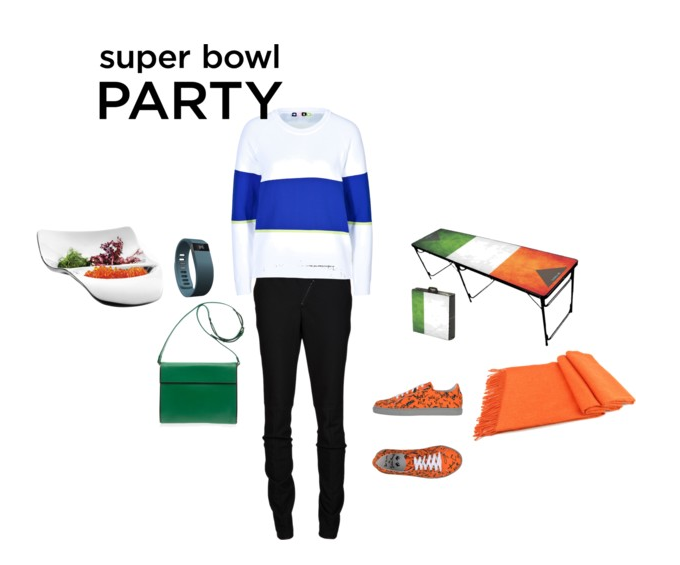 What to wear to a Superbowl party