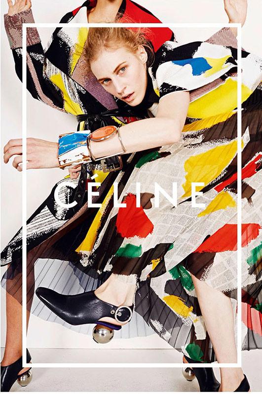 Celine Ad Spring 2014