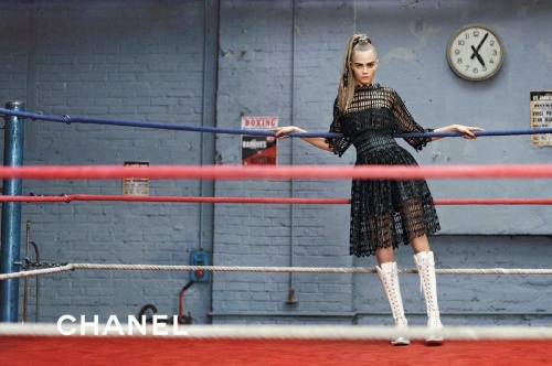 Cara Delevingne Chanel ad